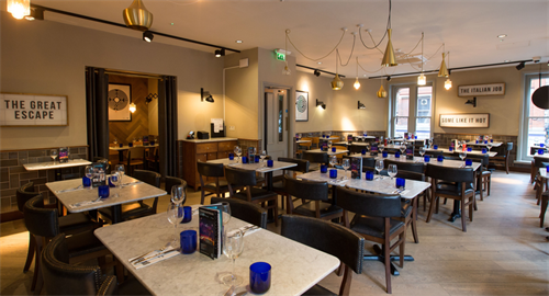 Hire Main Restaurant Pizzaexpress Leicester Square Charing