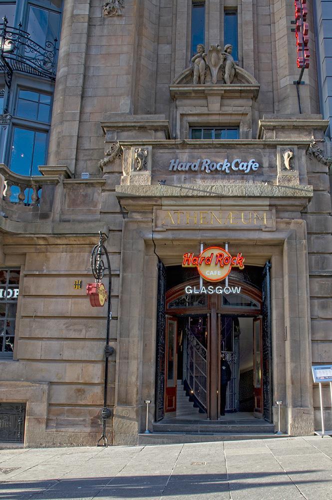 Hard Rock Cafe Glasgow Conference Venue Meeting Room
