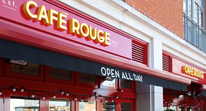 Cafe Rouge Birmingham New Street